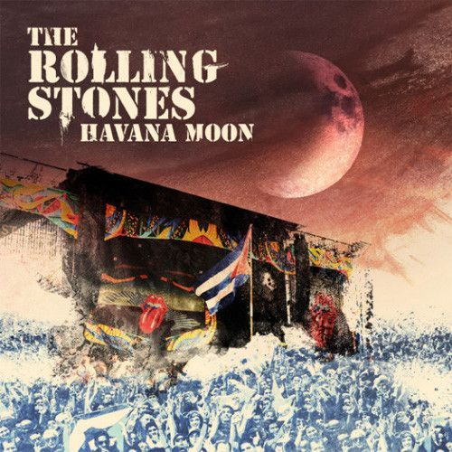 The Rolling Stones - Havana Moon 180g 3LP & DVD November 11 2016 Pre-order