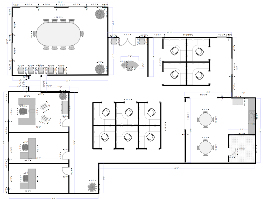 10 Pics Review Smartdraw Floor Plans And Description Floor Plan Creator Free Floor Plans Floor Plan Drawing