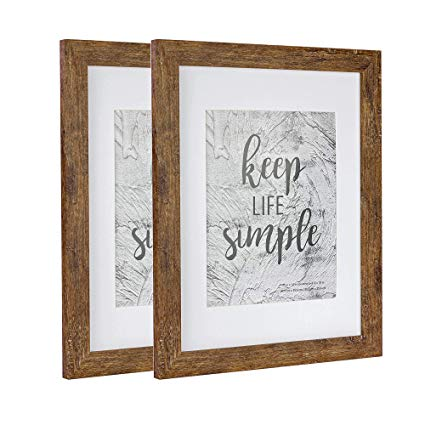 Amazon Com Home Me 11x14 Rotten Brown Picture Frame 2 Pack Made To Display Pictures 8x10 With Mat Or 11x14 Without Mat Wide Molding Wal Brown Picture Frames 8x8 Picture Frame Picture Frames