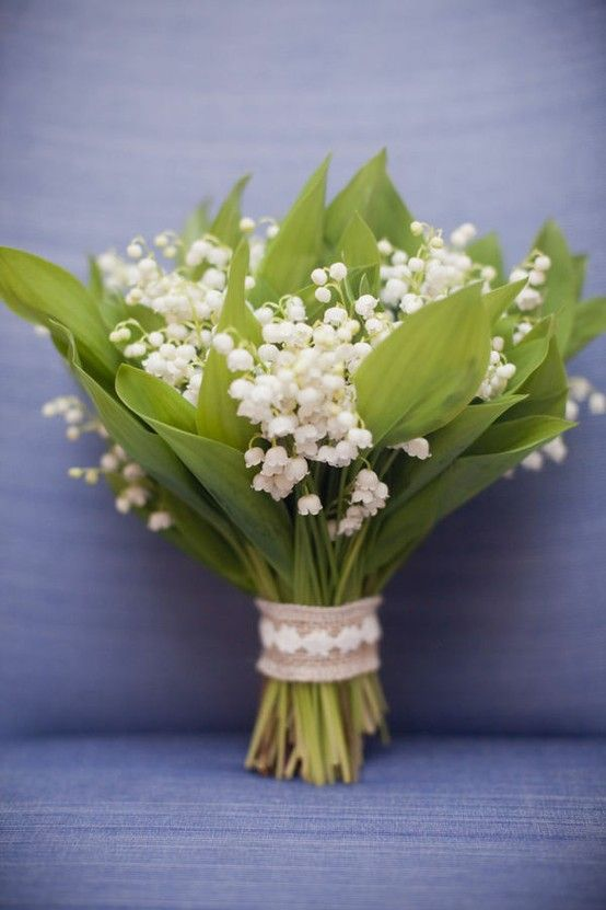 Lily Of The Valley Snowdrop Bouquet Lily Of The Valley Bouquet
