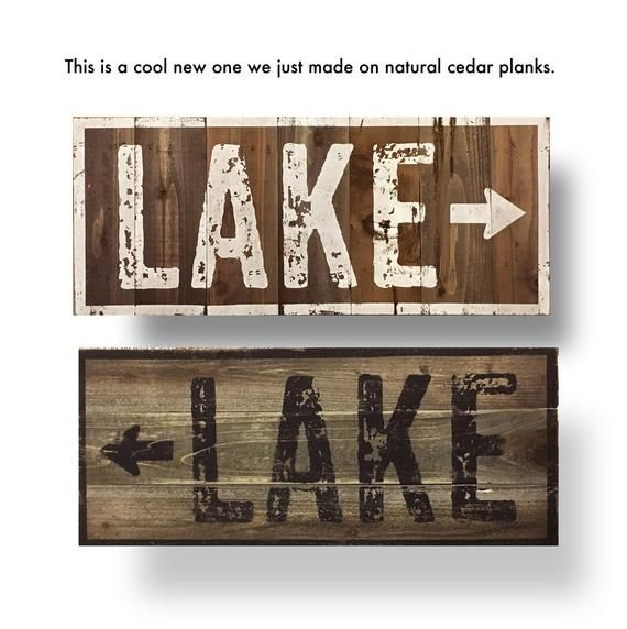Lake House Decor Go Jump In The Lake Minnesota 10 000 Lakes 14x16 Cedar Sign Rustic Wooden Sign Vintage Style Home Decor Wall Hanging Sign Lake Signs Lake Decor Rustic Wall Decor