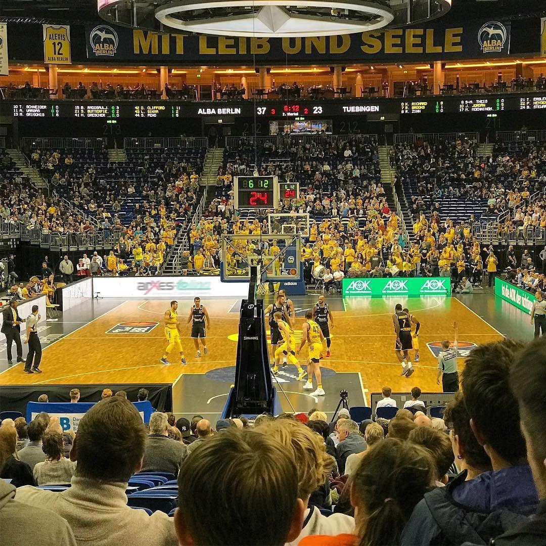 Basketball Alba Berlin Tubingen Bbl Mercedes Benz Arena Basketball Mercedes Benz