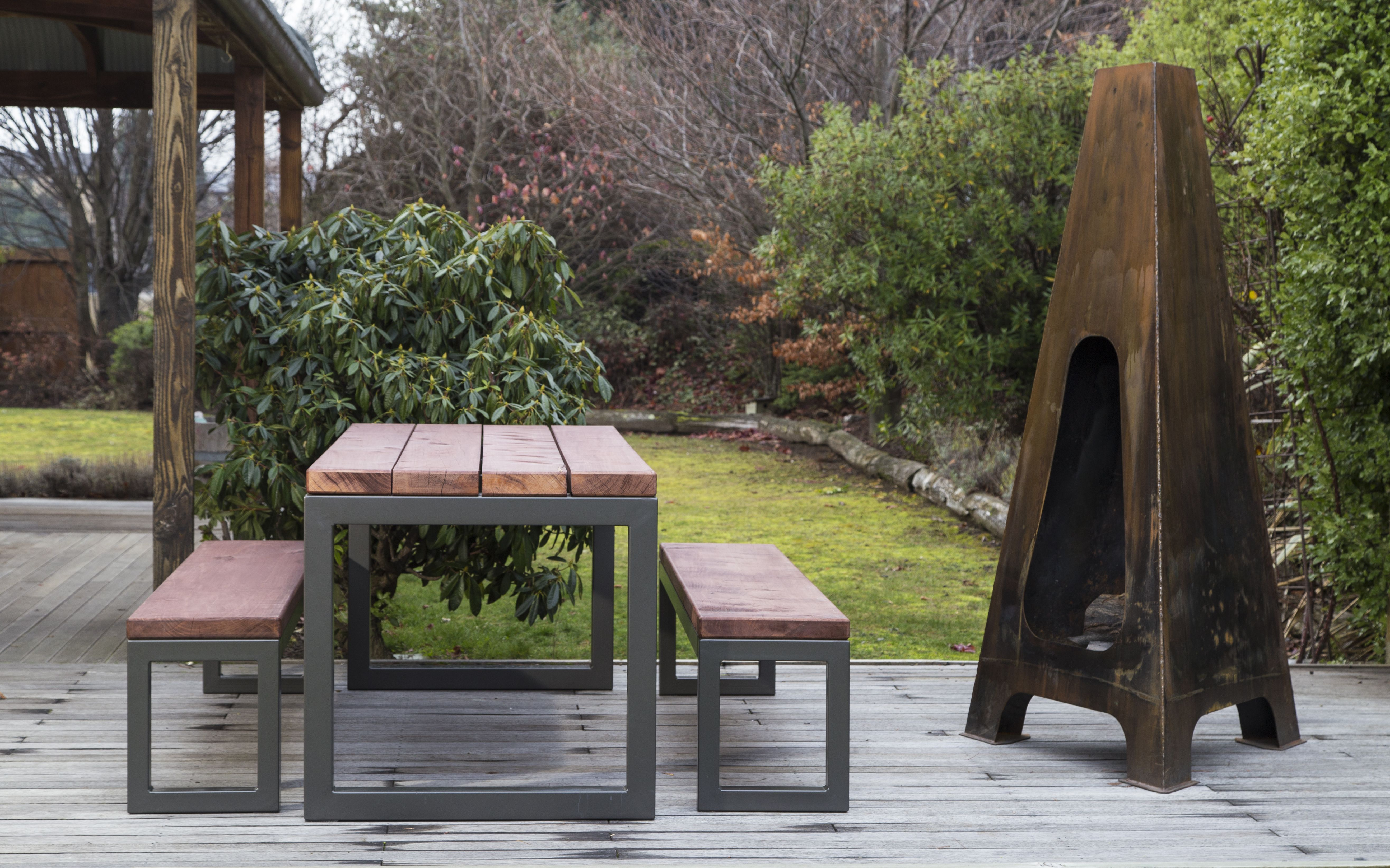 Quirky outdoor furniture haig table and pyramid fire how to clean furniture outdoor fire