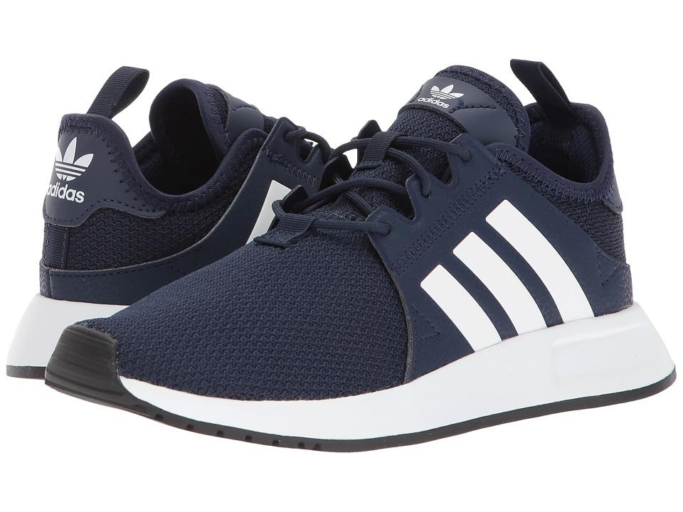 719b042f4cbe09 adidas Originals Kids X PLR J (Big Kid) Boys Shoes Collegiate Navy White