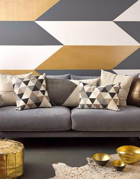 Love the colours \ patterns! Cushions Pinterest Pinturas - pinturas para salas