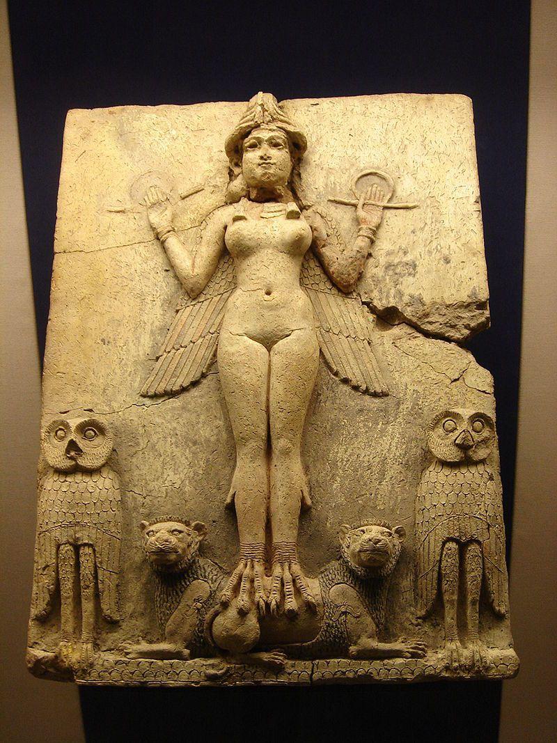Queen Of The Night Babylon Babylon Wikipedia The Free Encyclopedia Mit Bildern Alte Kunst Kunstgeschichte Statuen