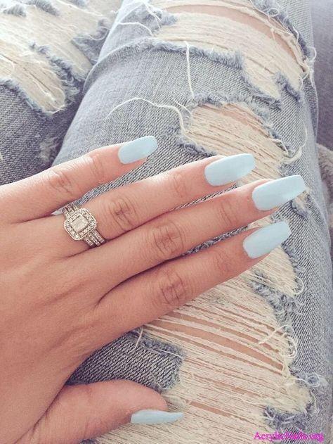 Best 101 Nail Art Design Ideas Acrylic Gel Shellac Nails Blue Nails Fake Nails Nail Designs