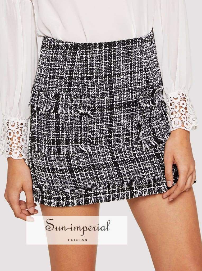 c84053ea74 Color: Black and White Composition: 100% Polyester Length: Above Knee/Short