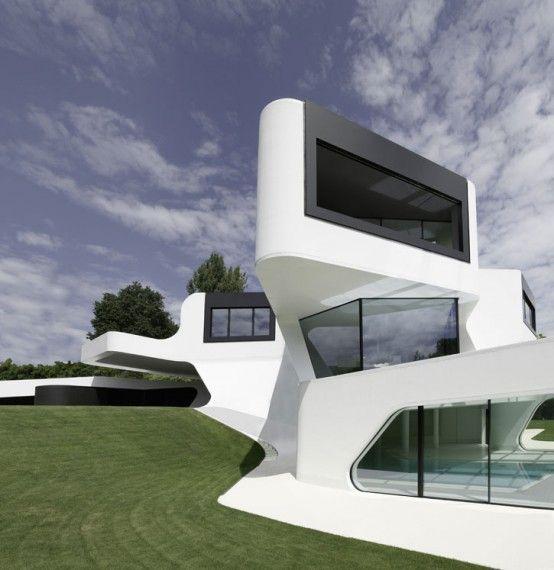 The Most Futuristic House Design In The World Futuristic Home