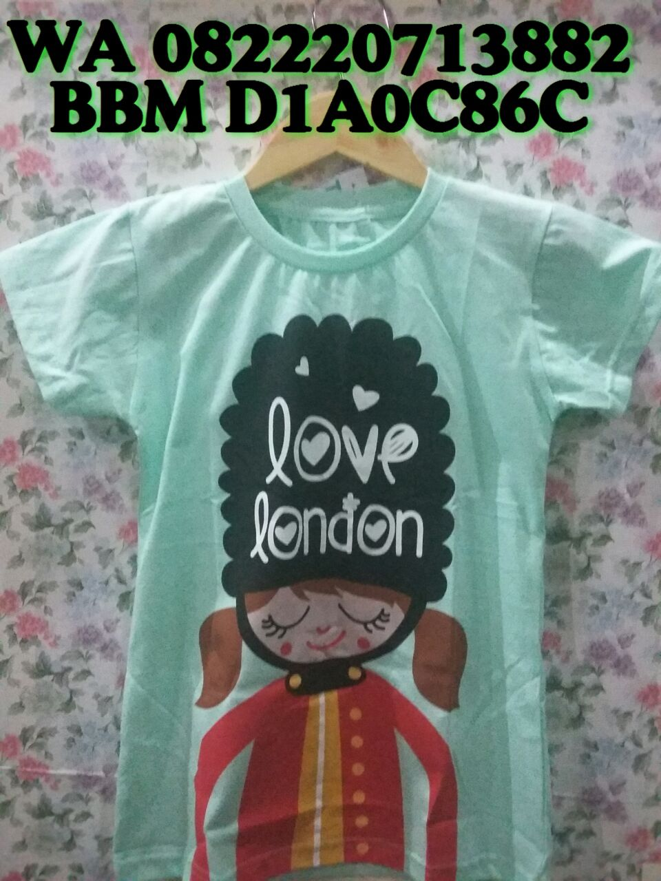 Kaos Baju Anak Bayi Laki Perempuan Murah Lucu Bagus Branded 1 2