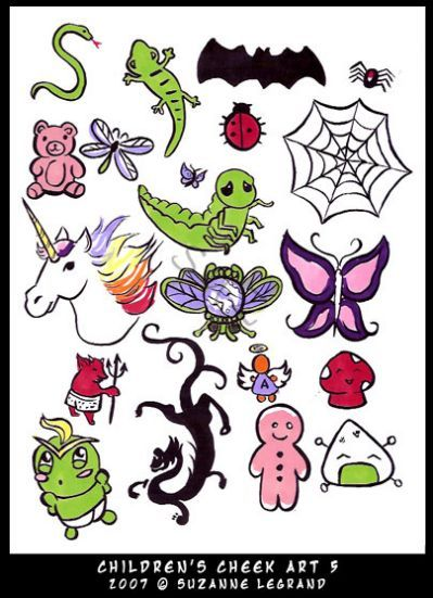 Simple Face Painting Design Sheet Face Painting Easy Face Painting Face Painting Designs