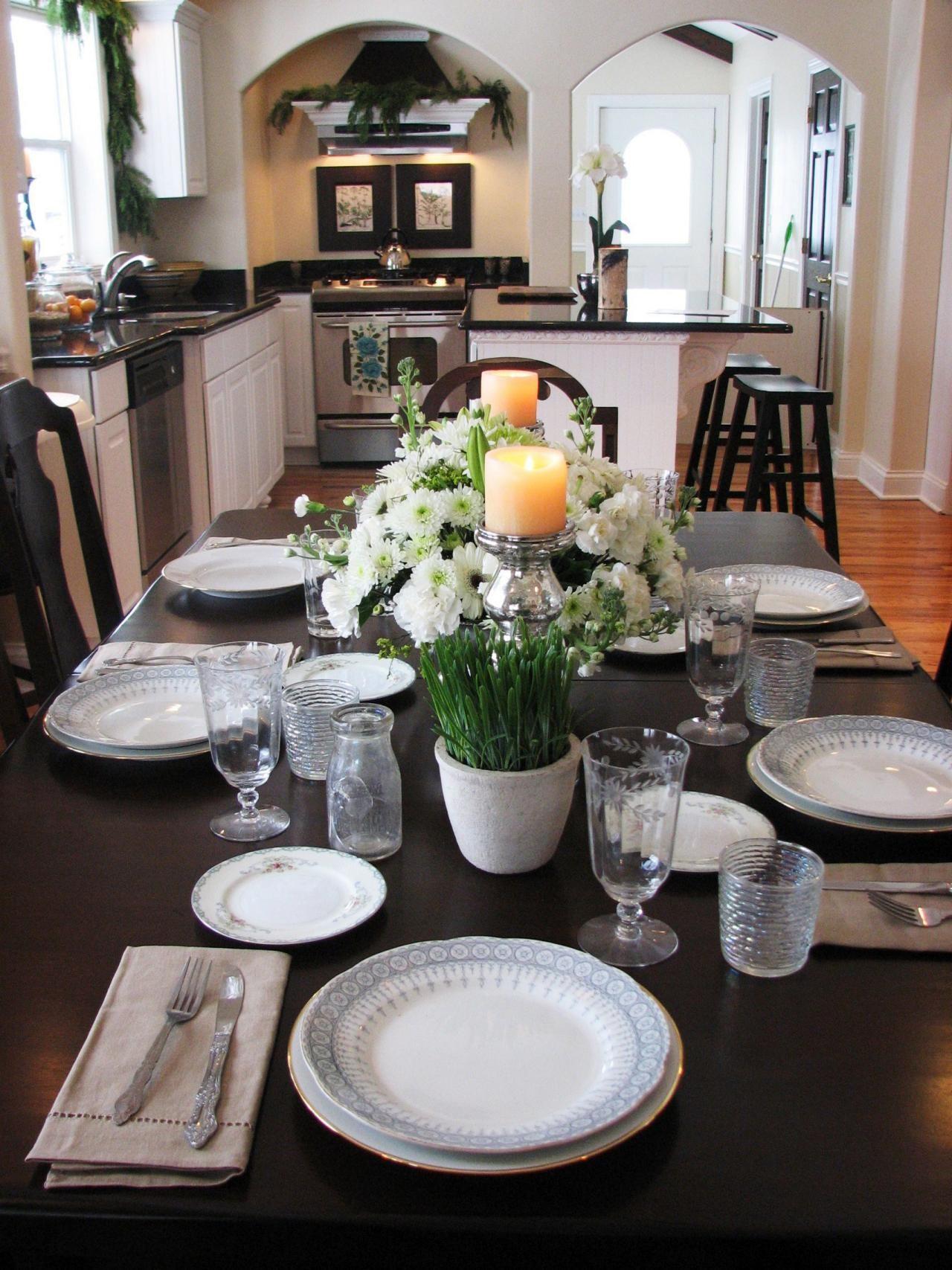 Küche Tisch Dekorationen | Küche | Pinterest | Küche tisch, Tisch ...