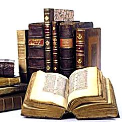 piles of antique books - Google Search