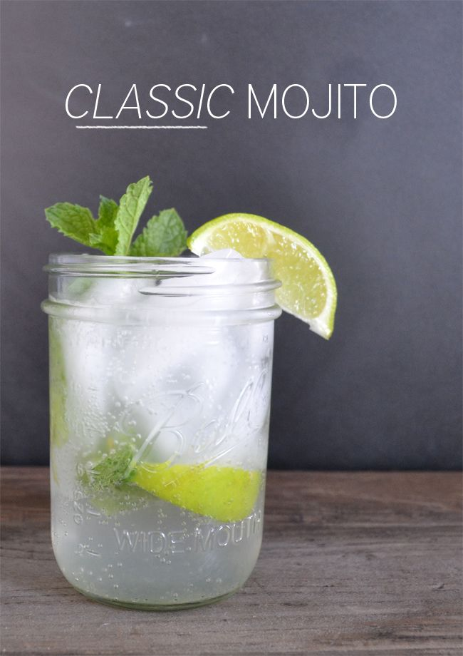 Classic Mojitos aren't hard to make - @Melissa Bandera can show you how easy they are. Cheers!