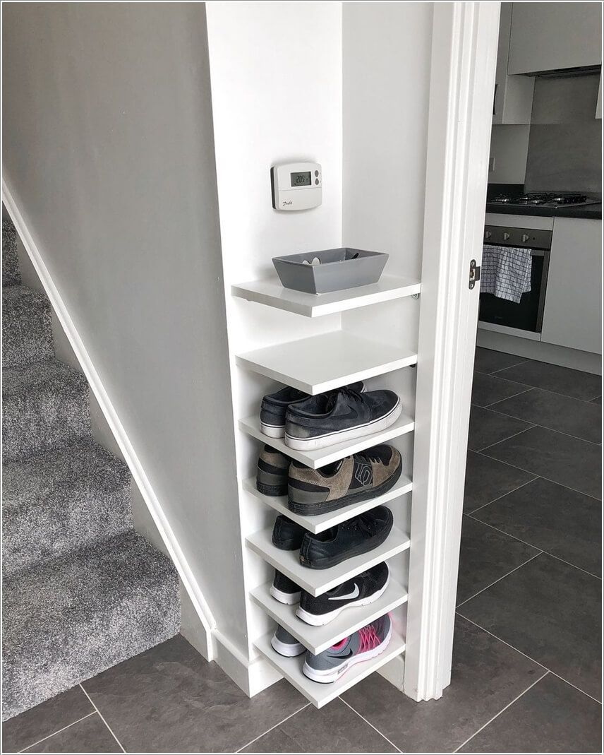 Clever Shoe Storage Ideas for an Entryway
