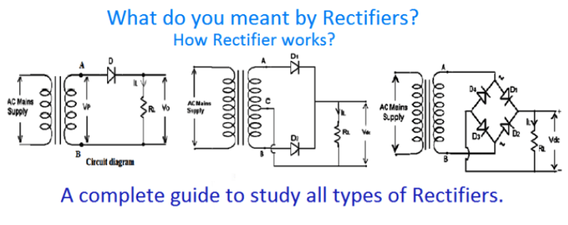 How Diode Converts Ac Into Dc