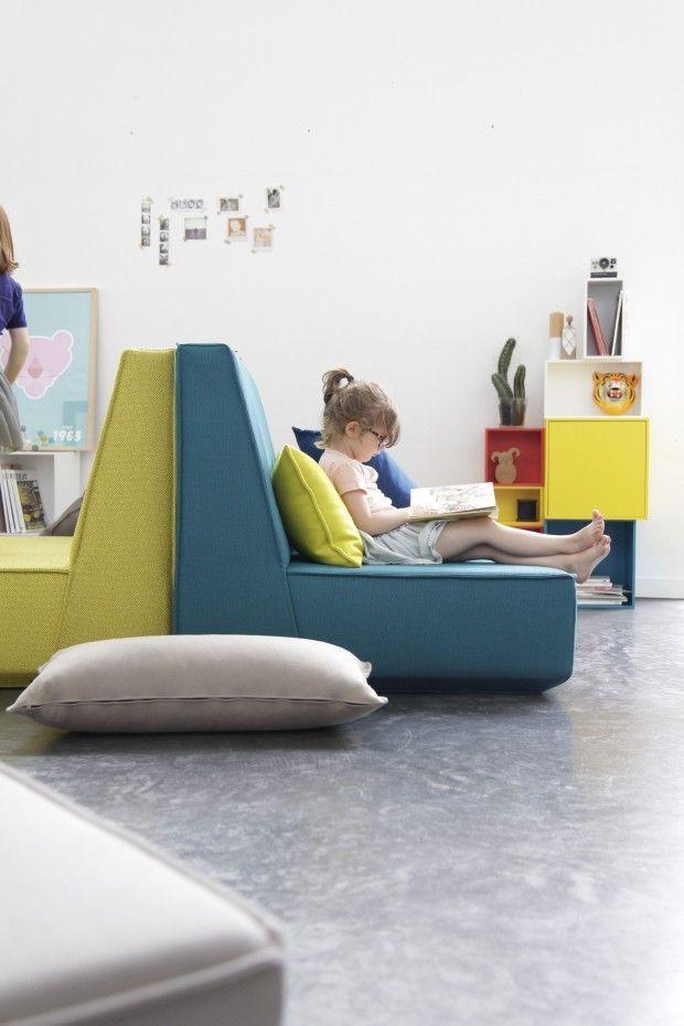id e agencement simple de canap modulable dos dos. Black Bedroom Furniture Sets. Home Design Ideas