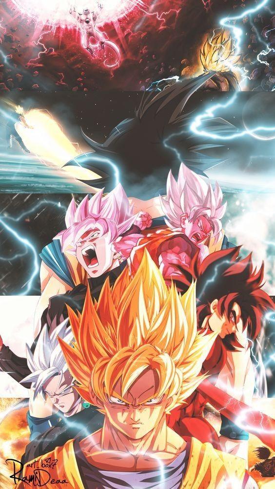 Pin de João Paulo Silva em Dragon ball super Anime, Goku