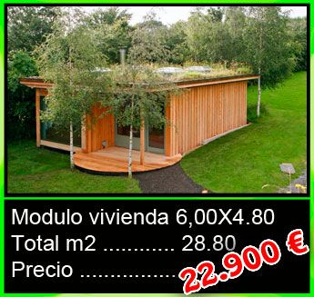 Modulo vivienda 6x4,80 - Mobilhomes y Caravanas ocasión Tarragona