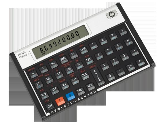 HP Store UK Financial calculators, Calculator design