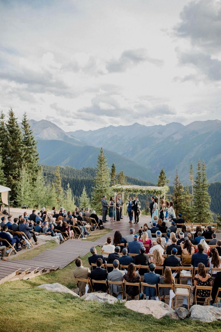 Pin by ellie meyer on wedding in 2020 Mountain wedding