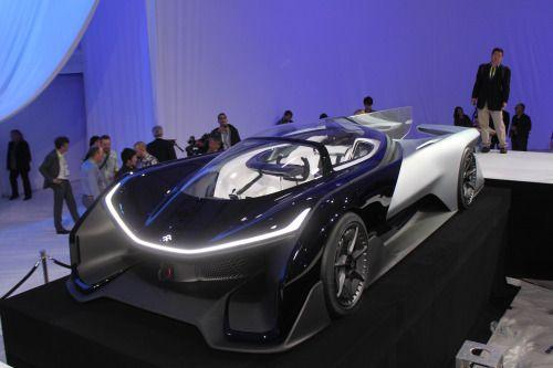 Ces上唯一令人驚豔的東西 Faraday Future Ffzero1 Concept Cars Voiture Futuriste Tesla
