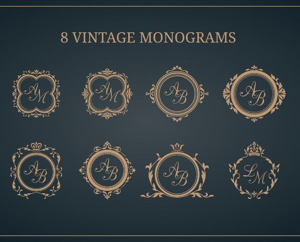 Wedding Monogram Design Templates Free deweddingjpgcom