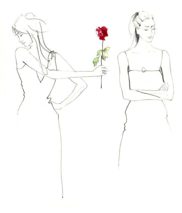 Control Z fashion illustration