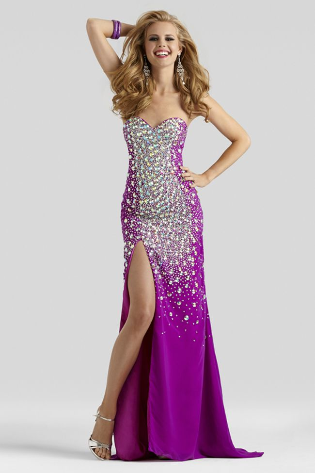 Sparkling Berry Prom Dress 2398 | Pinterest | Beaded lace, Long prom ...
