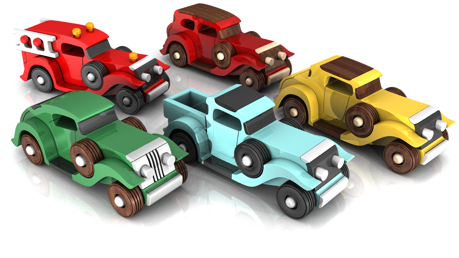 Toys car png  Handmade Wooden Toy Cars and Trucks Prototypes Quick N Easy Five