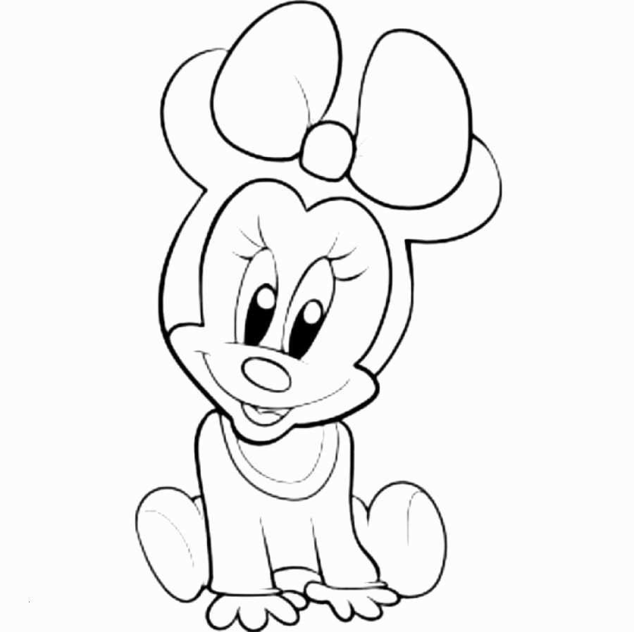 Baby Minnie Mouse Coloring Pages Elegant Micky Maus Malvorlage
