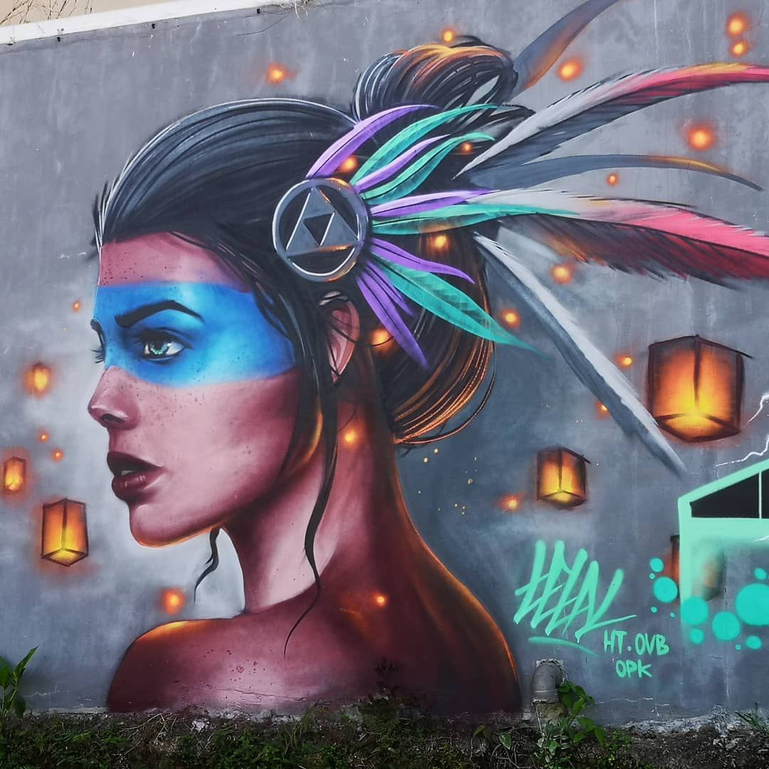 Tetal In Bali Indonesia 2019 Streetart Mandalas Ideen
