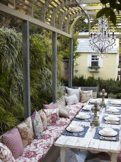 Come arredare un terrazzo in stile shabby - Arredare un terrazzo in ...