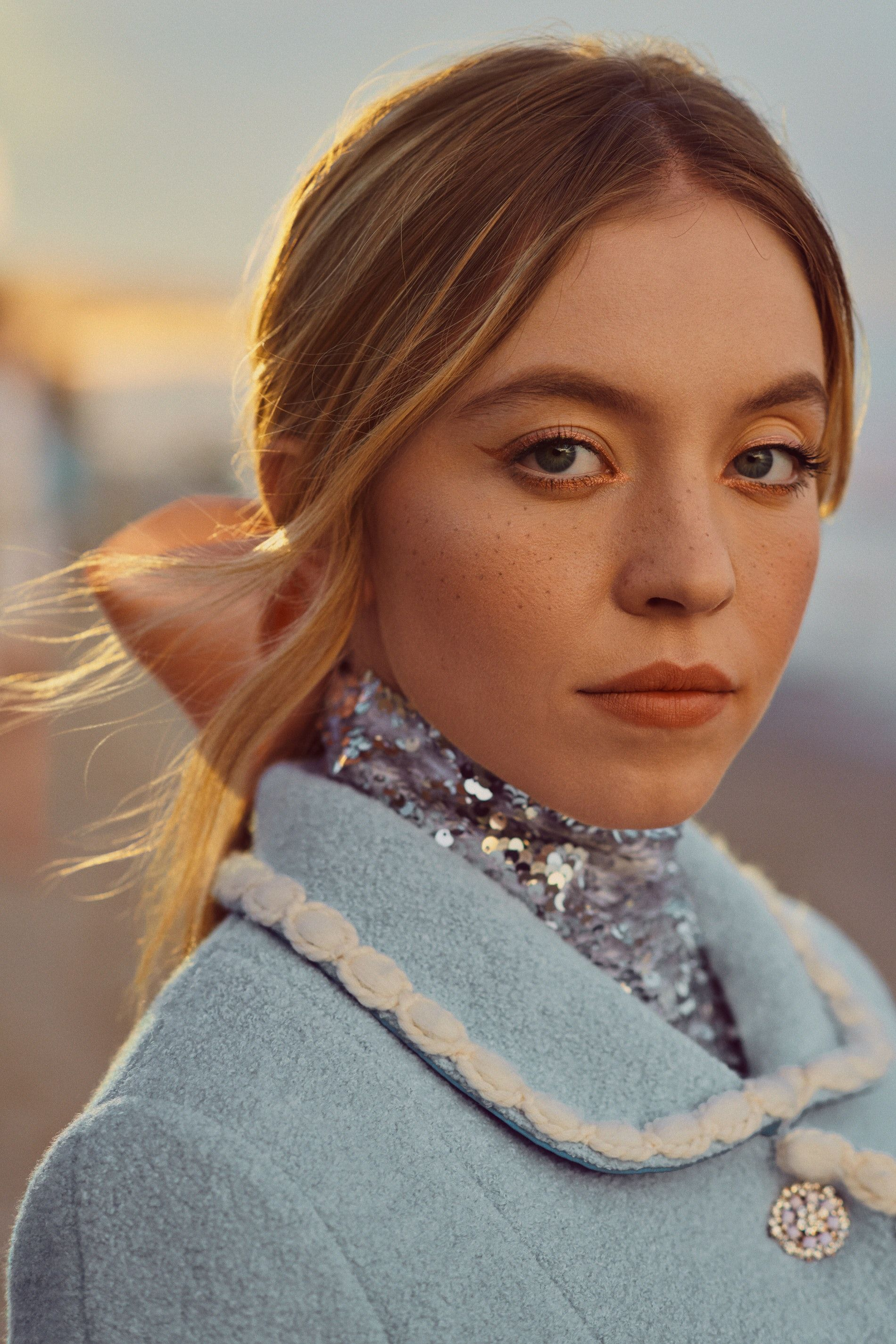 'Euphoria's Sydney Sweeney On Scandal, Creepy DMs, & Her LA Family The Apatows