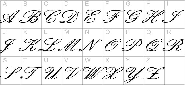 Old English Cursive Fonts