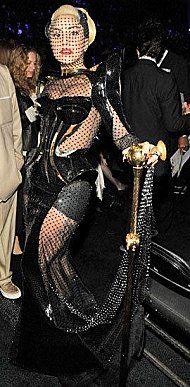 Poor Gaga ...... left with nothing.