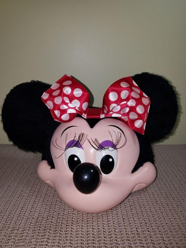 a41aabf351b Walt Disney World Minnie Mouse Adult Size Baseball Hat Cap Ears 3D Costume   Disney