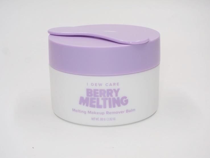 I Dew Care Berry Melting Makeup Remover Balm Review