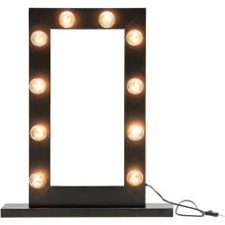 Photo of Woood Mollie Make-Up Mirror Black WooodWoood