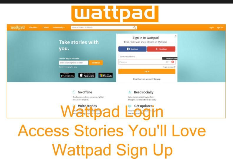 Wattpad Sign Up | Wattpad Online Login | How To Sign Up For