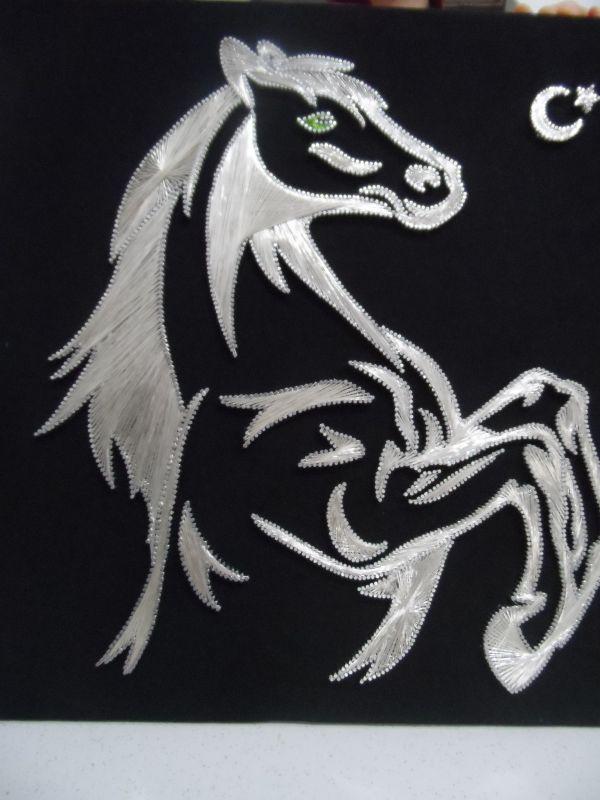 At şaha Kalkmış Ip Sanatı Pinterest