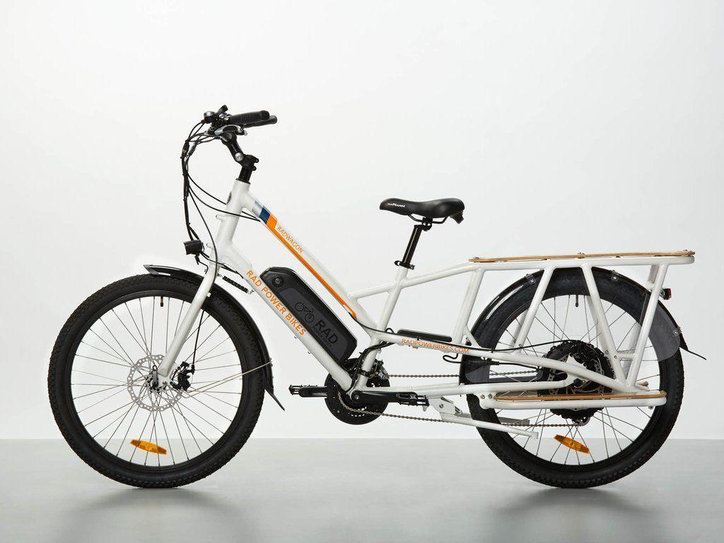 Radwagon Electric Cargo Bike Version 4 Electric Cargo Bike Cargo Bike Electric Bike