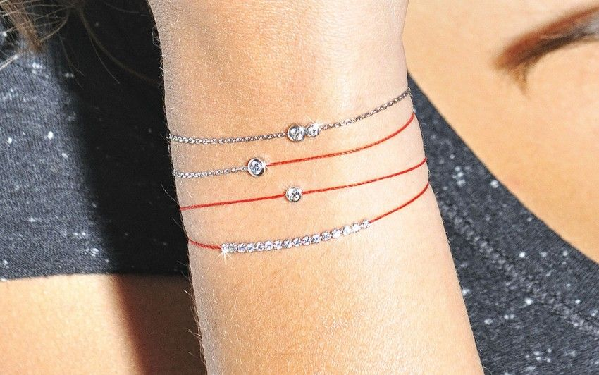 Redline Bracelet Google Search Fil Diamond Bracelets Or