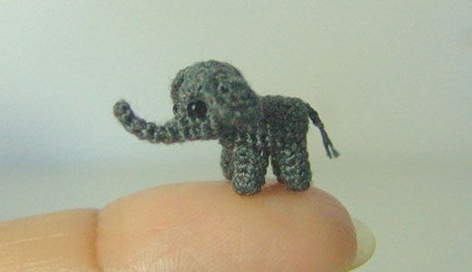 Ravelry: mini elephant amigurumi pattern by mohu | 300x520