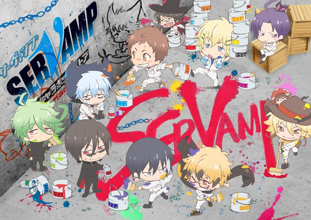 SERVAMP CHIBIS!!!!!!!! They are all so adorable....I want to pick them all up…