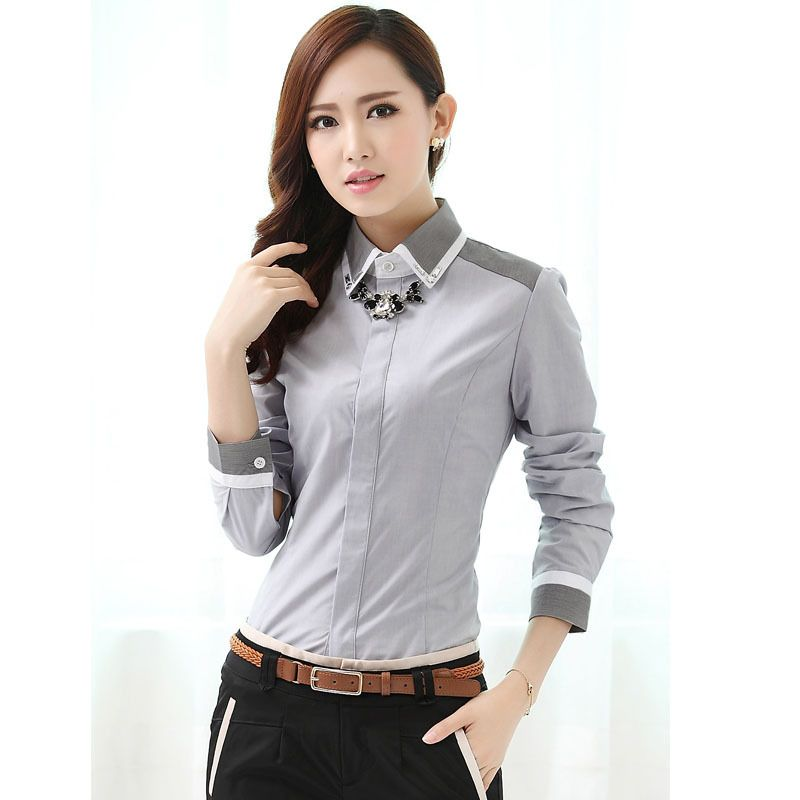 Vestuario profesional para damas buscar con google for Womens work shirts uniforms