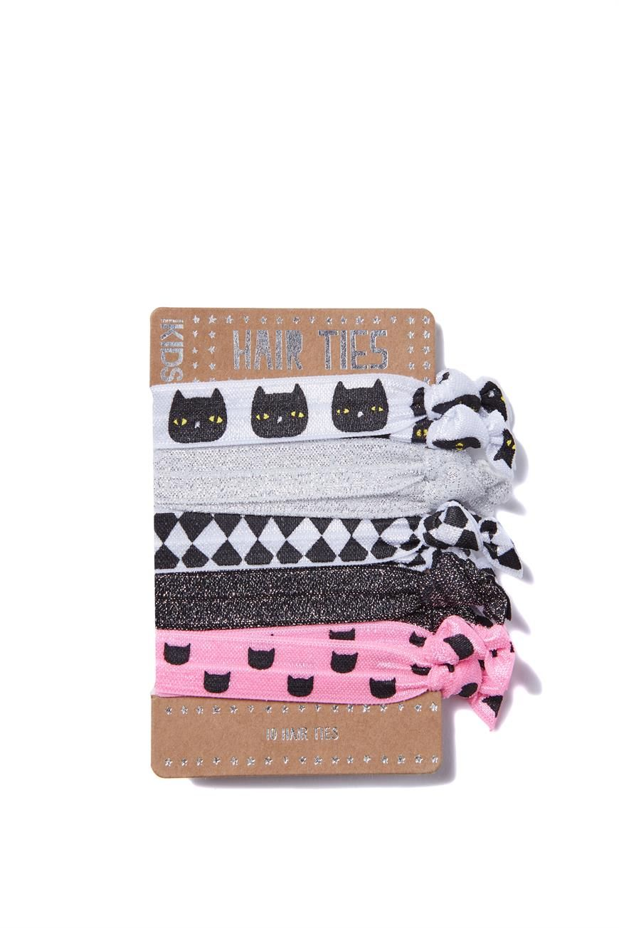 Every girl needs a hairtie, especially these funky knotted hairties that come in…