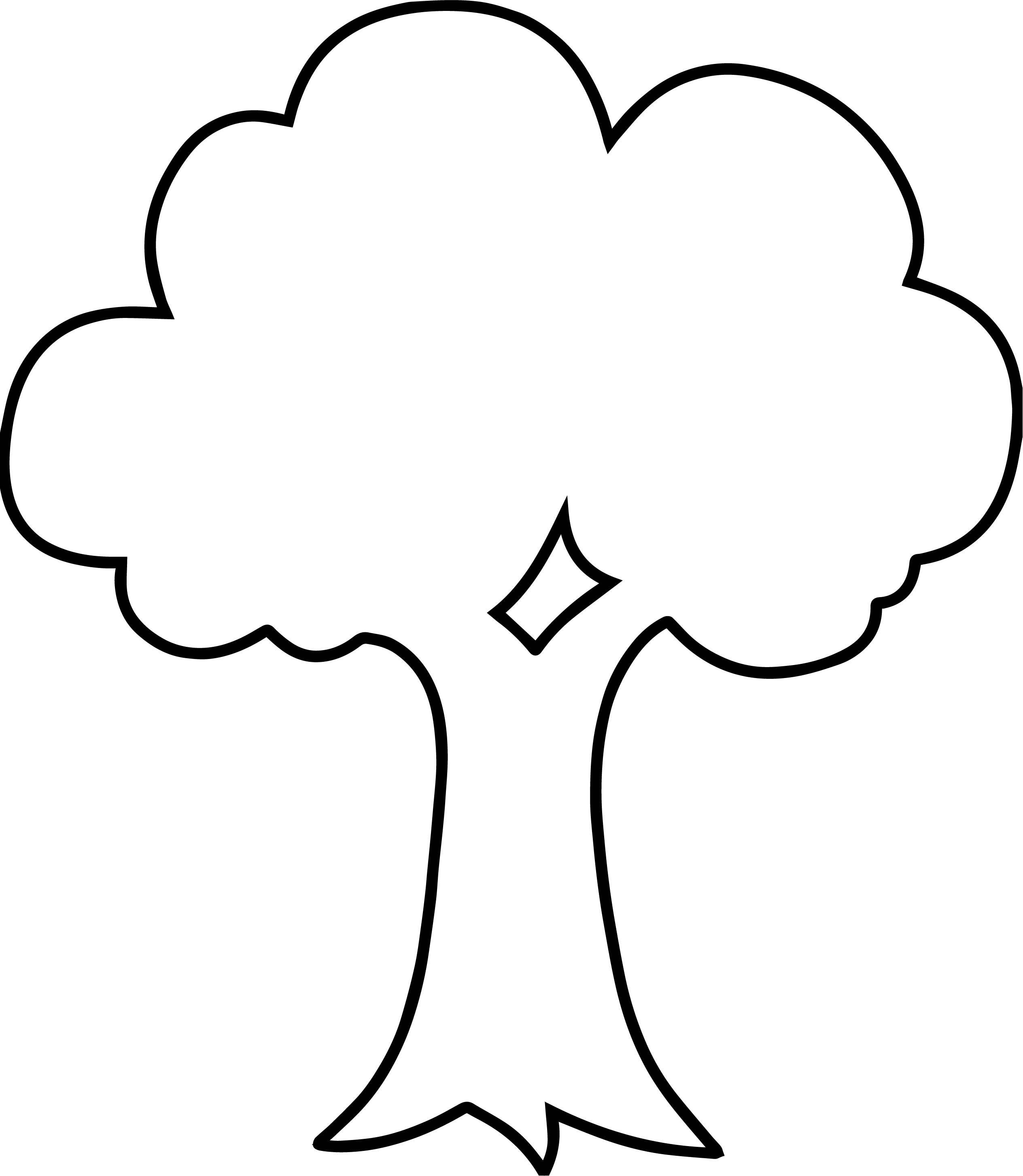 Awesome Empty Apple Tree Coloring Page Tree Coloring Page