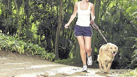 Para estar saludable, empieza a hacer ejercicio con tu mascota