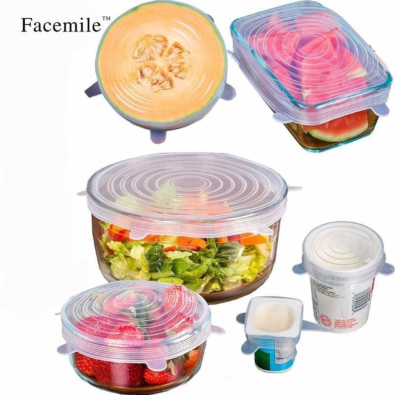 Tired of buying plastic wrap and aluminum foil? - 6 pieces in a set